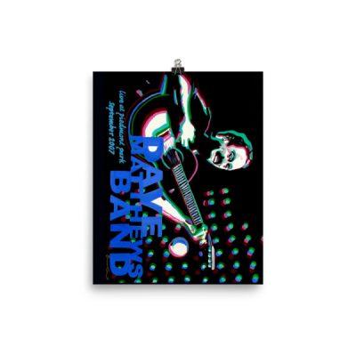 dave mathews band poster 8×10